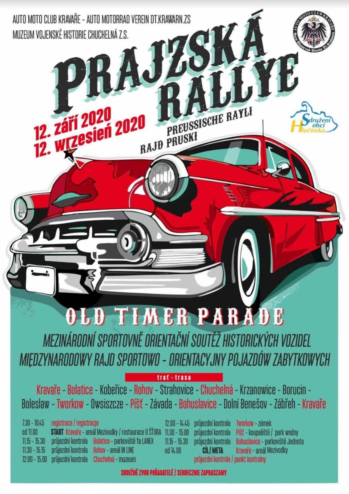 Prajzská Rallye 2020
